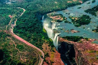 Copper Mines Details about  /ZAMBIA AIRWAYS Metal Tray Victoria Falls